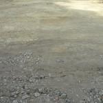 Комсомольская, 288: жители не дали класть асфальт в пыль и грязь