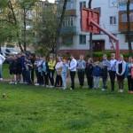 Праздник детского спорта во дворе